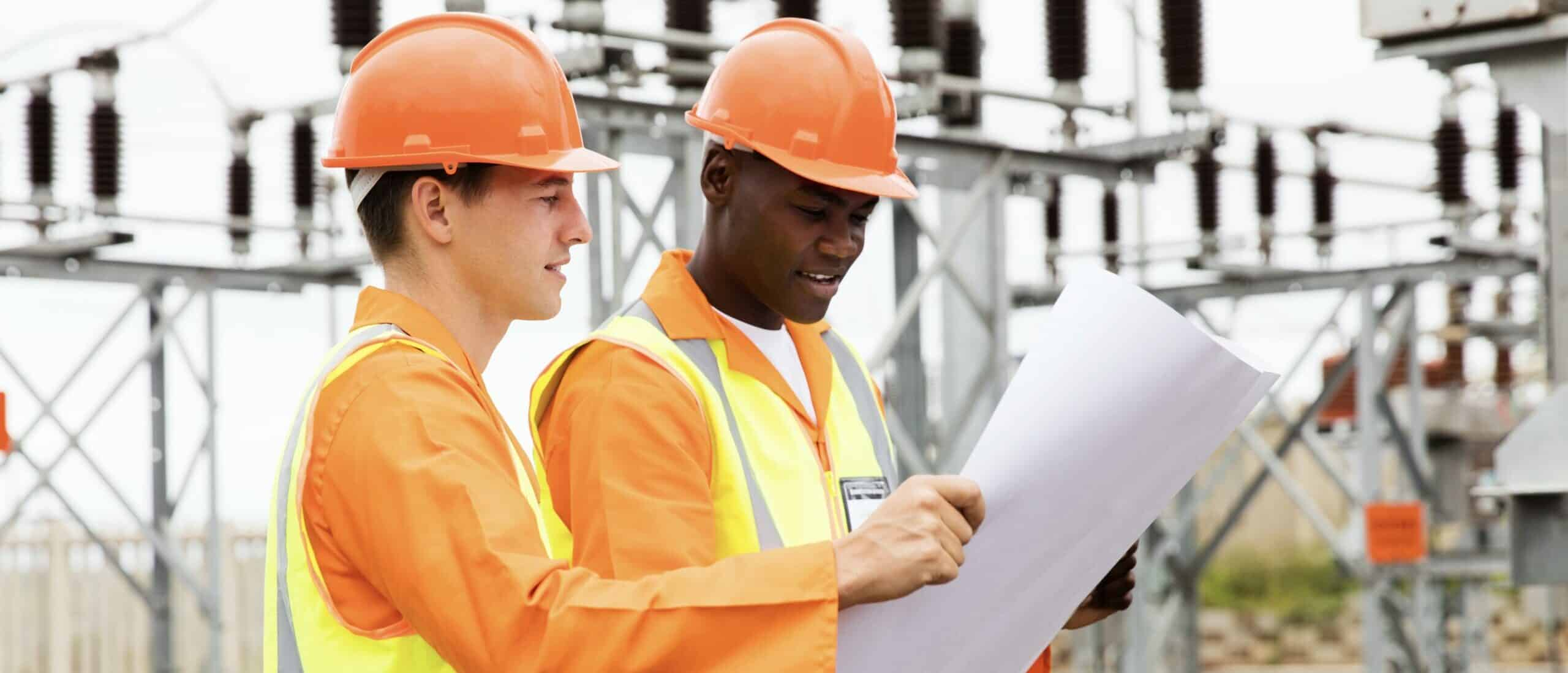municipal utility substation design line design hero